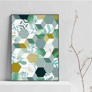 Green stuff - quadro decorativo em canvas