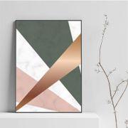 Hard Lines - quadro decorativo em canvas