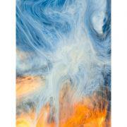 Ice & Fire -  Quadro decorativo em canvas