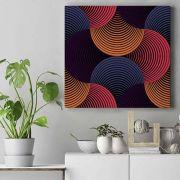 In & Out - Quadro em tela tecido canvas