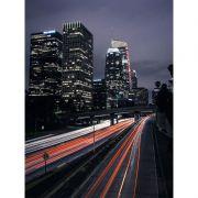 Luzes noturnas - Quadro decorativo em canvas urbano