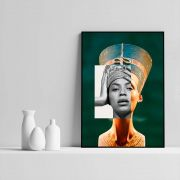 Nefertiti Knowless - Quadro decorativo em canvas