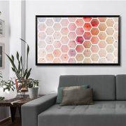 Orange Hive – quadro decorativo em canvas