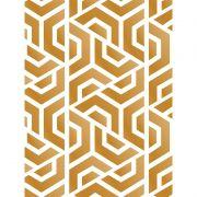 Quadro decorativo em canvas Elementos Dourados