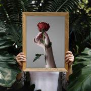 La vie en rose - Quadro decorativo em canvas