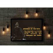 Quadro decorativo em canvas A Vingança dos Sith