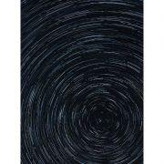 Quadro decorativo em canvas abstrato rastro estelar