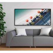 Quadro decorativo em canvas atlântica