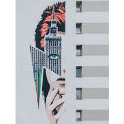 Quadro decorativo em canvas David Bowie
