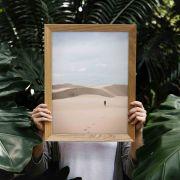 Quadro decorativo em canvas deserto