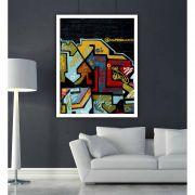 Abstraction - Quadro decorativo em canvas
