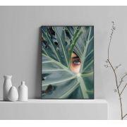 Quadro decorativo em canvas olhar da natureza