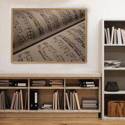 Quadro decorativo em canvas Partitura