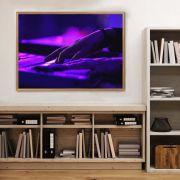 Quadro decorativo em canvas Pianista