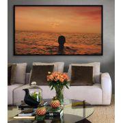 Quadro decorativo em canvas Sol e mar
