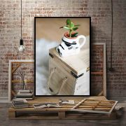Quadro decorativo em canvas Stormtrooper Vegano