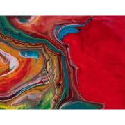 Quadro decorativo em canvas Vermelho