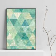 Quadro em canvas emerald points