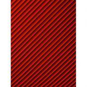 Quadro em tela canvas - linhas vermelhas