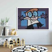 Dexter - Quadro decorativo em canvas