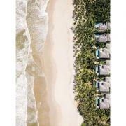 Tropical houses - Quadro decorativo em canvas