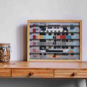 Urban Home - Quadro decorativo em canvas