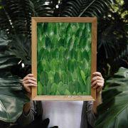 Verdinhas - Quadro decorativo em canvas