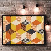 Y&N Cubes - quadro decorativo em canvas