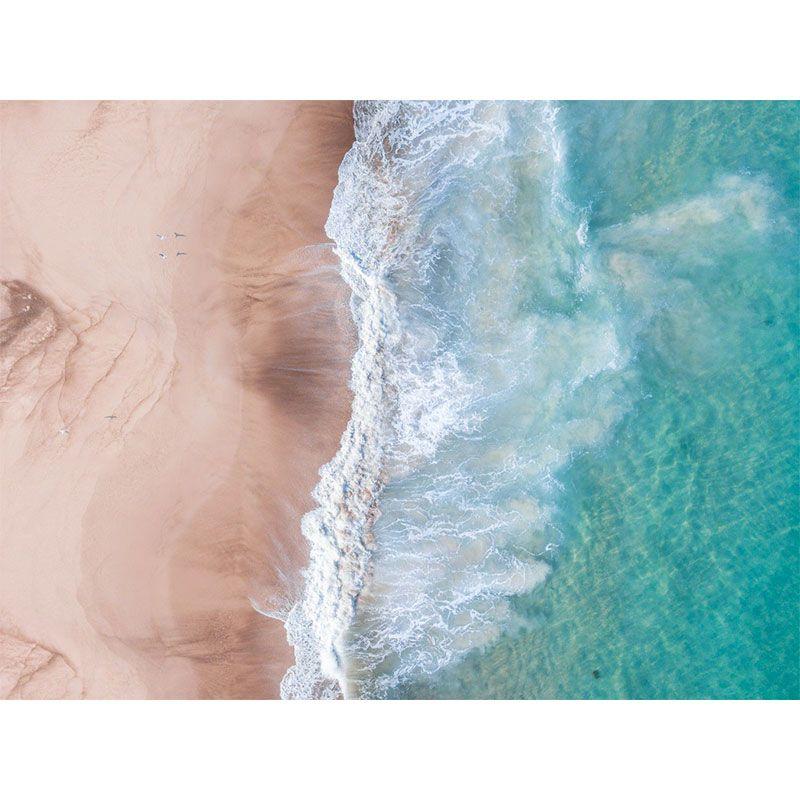 Areia e Mar - Quadro decorativo em canvas