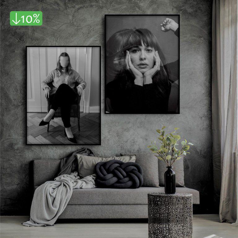 Coleção Mulheres - Quadros decorativos em canvas