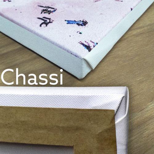Coleção Perfil - Quadros decorativos em canvas acabamento em Chassi