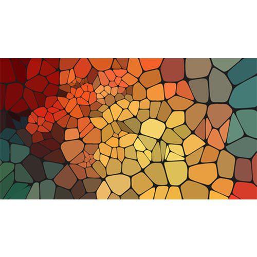 Color Caos - quadro decorativo em canvas