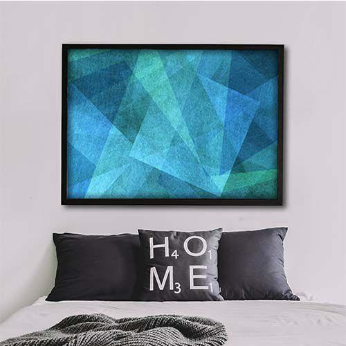 Color squares, quadro em canvas decorativo