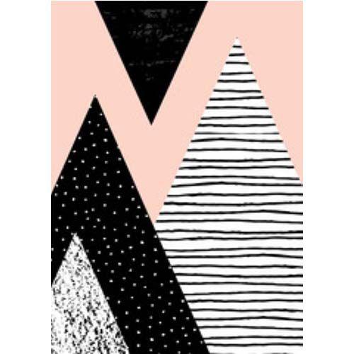 Dots & lines - quadro em canvas