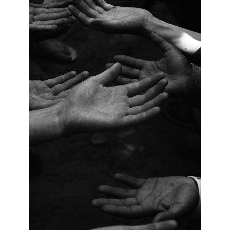 Mãos unidas - Quadro decorativo em canvas