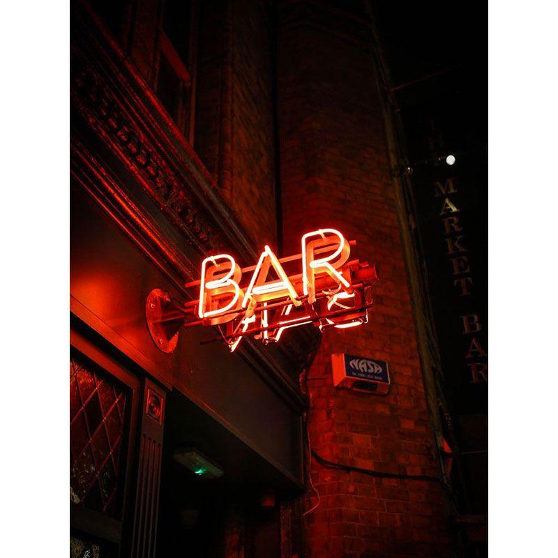 Open Bar - Quadro decorativo em canvas