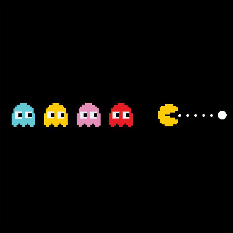 Pac Man - Quadro decorativo em canvas