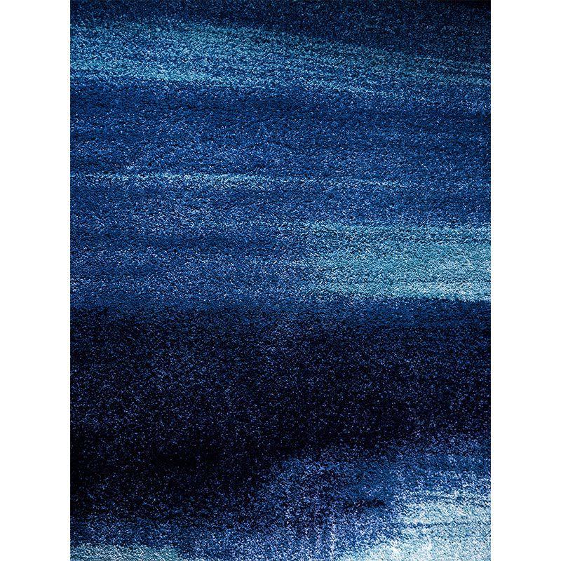 Quadro decorativo em canvas abstrato azul