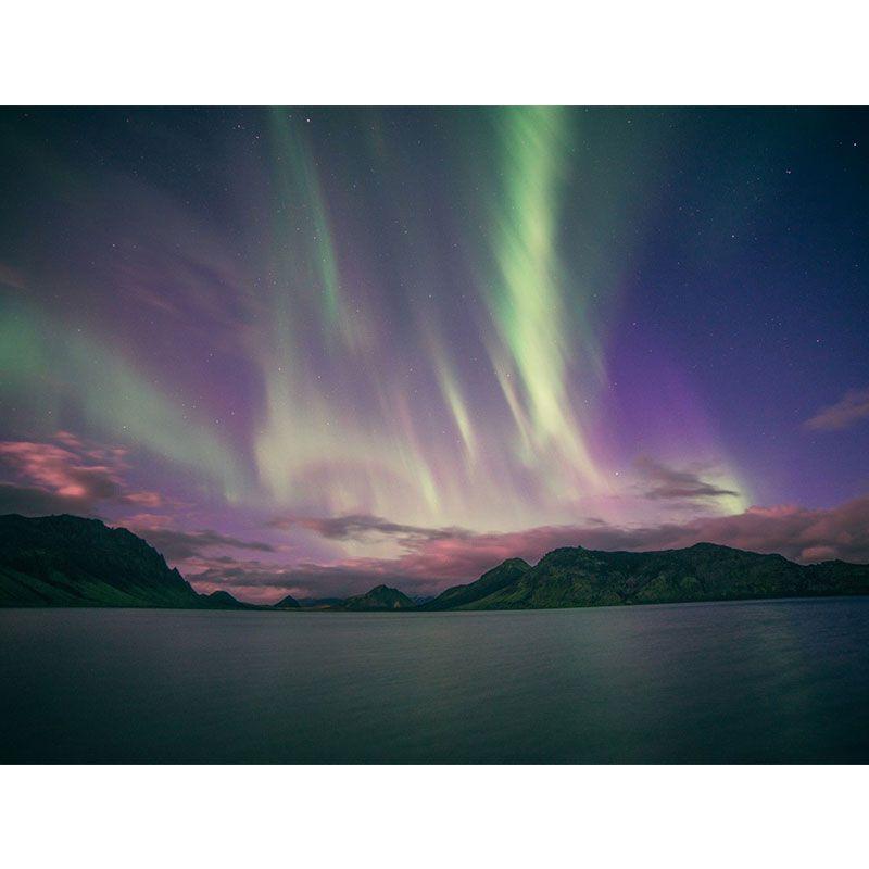 Quadro decorativo em canvas Aurora Boreal