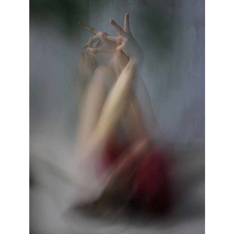 Quadro decorativo em canvas bailarina