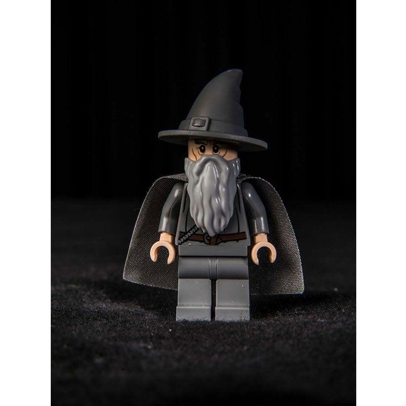 Quadro decorativo em canvas Gandalf Lego