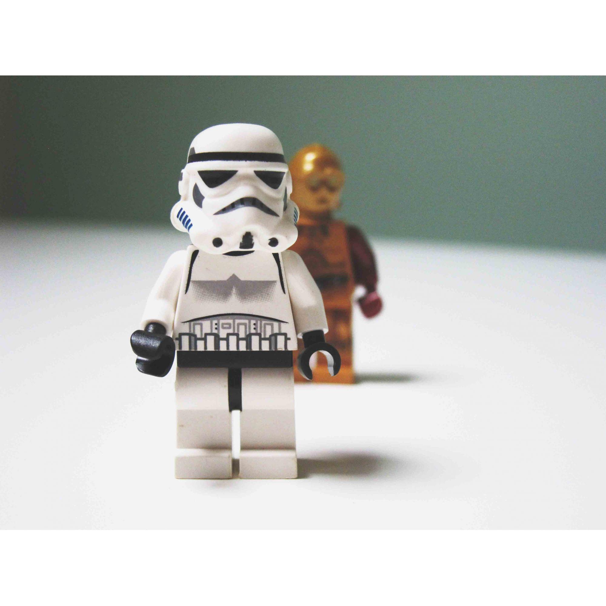 Quadro decorativo em canvas Lego Star Wars