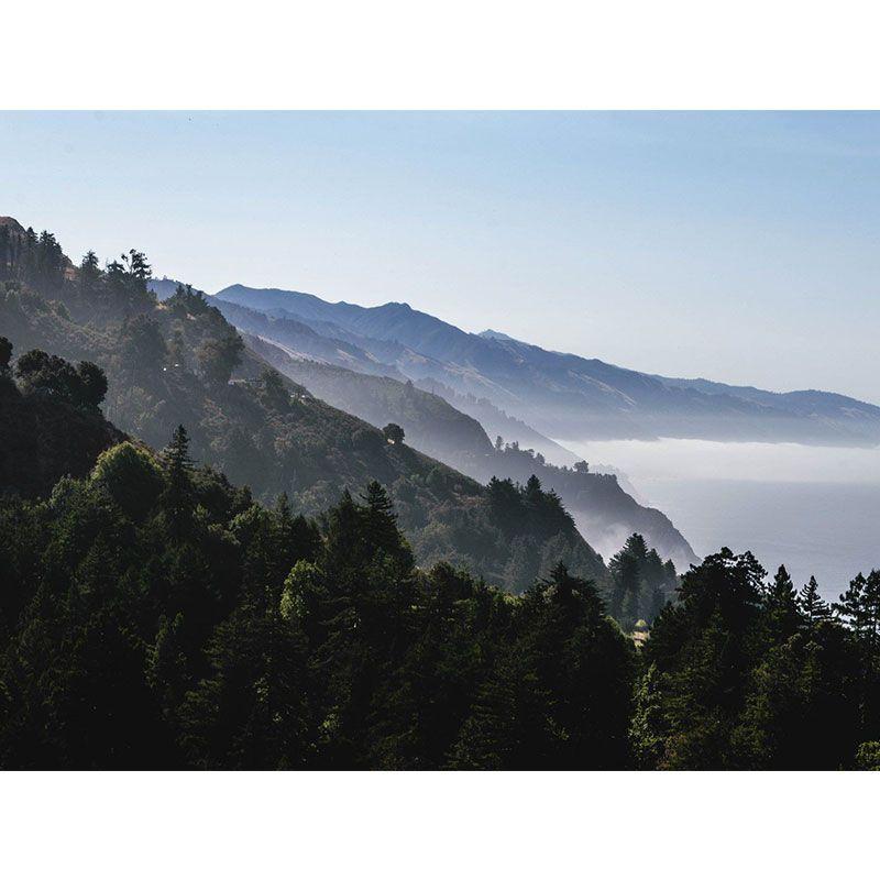 Quadro decorativo em canvas montanhas