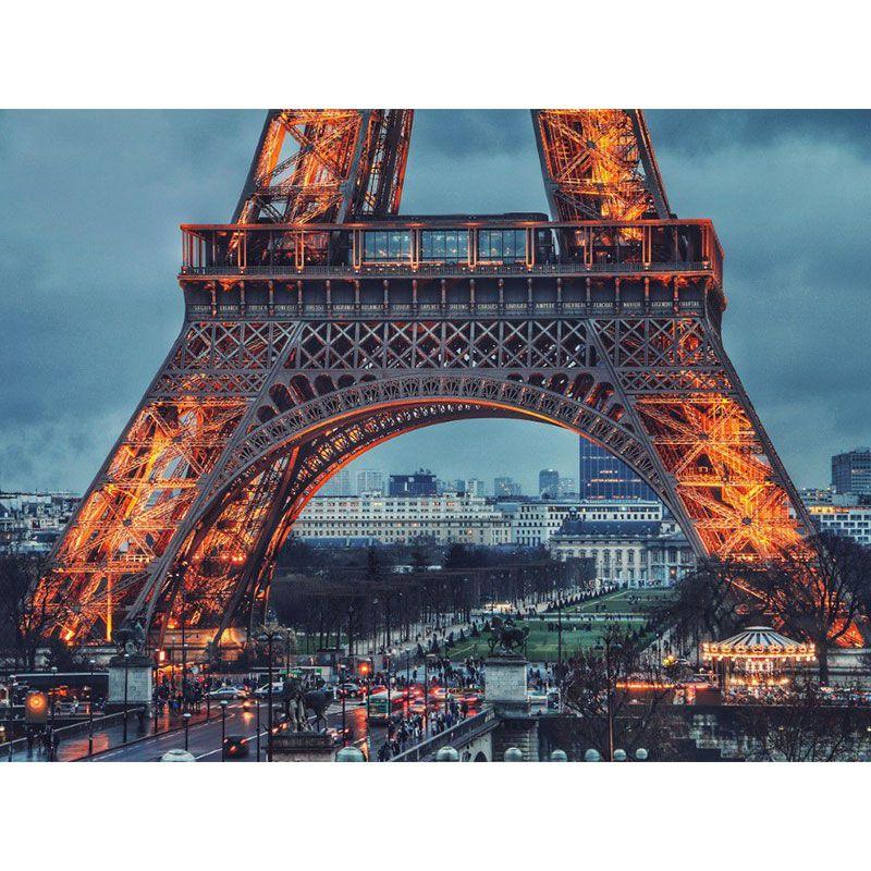 Quadro decorativo em canvas Paris Torre Eiffel