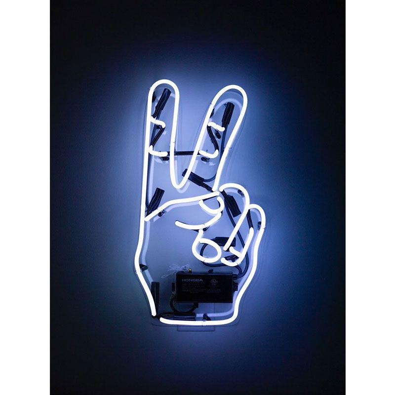 Quadro decorativo em canvas Peace!