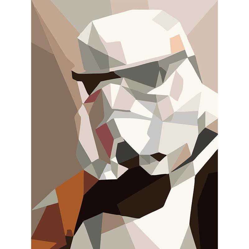 Quadro decorativo em canvas Star Wars - Storm Trooper