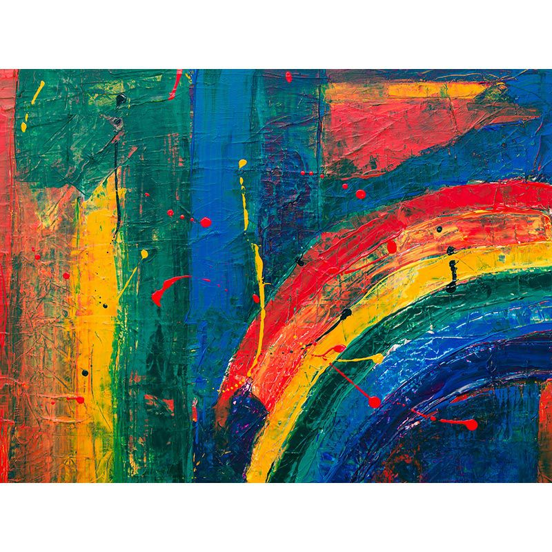 Rainbow - Quadro decorativo em canvas