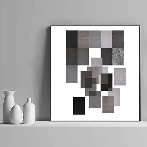 Shades of Grey - Quadro em tecido canvas