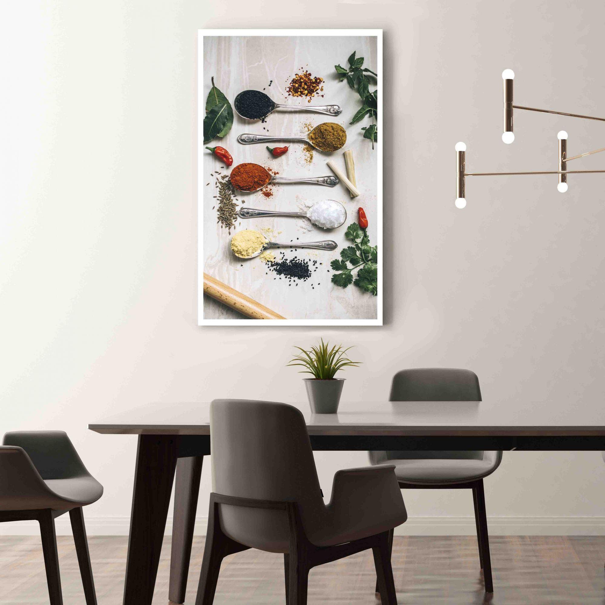 Temperos - Quadro decorativo em canvas