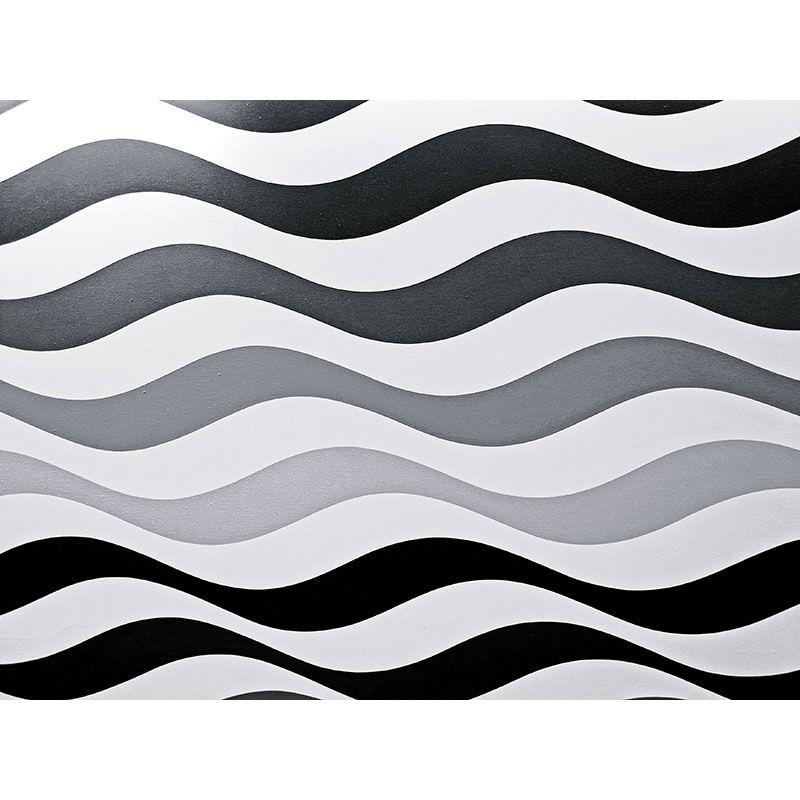 Waves geometric -  quadro decor em tecido canvas